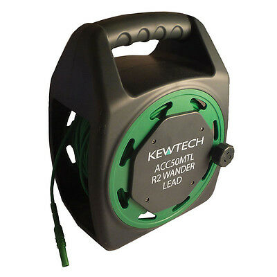 Kewtech ACC50MTL 50m Extension Test Lead for 17th Edition R2 Testing - PART P
