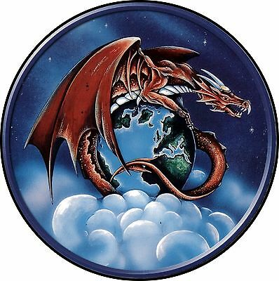 Dragon #1 flying dragon Spare Tire Cover Jeep RV Camper etc(all sizes available)
