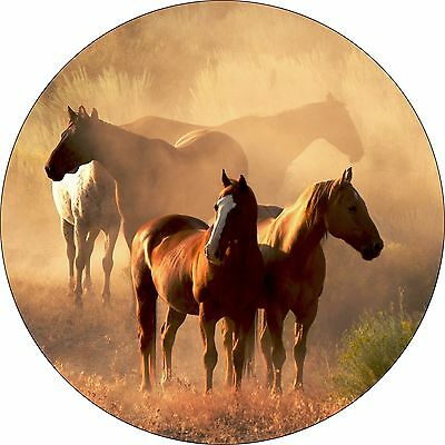 Horse # 9 - Custom Spare Tire Cover - Wheel Cover Jeep RV Camper(all sizes avail