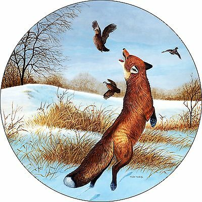 Fox # 2 Custom Spare Tire Cover Wheel Cover Jeep RV Camper etc(all sizes avail)
