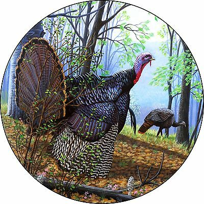 Turkey Spare Tire Cover Jeep RV Camper VW Trailer etc(all sizes available)