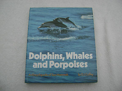 Dolphins Whales And Porpoises Book Maritime Nautical Marine (#082)