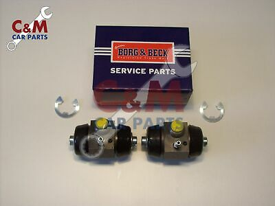 REAR BRAKE WHEEL CYLINDER PAIR for MGB MGB GT  BORG & BECK