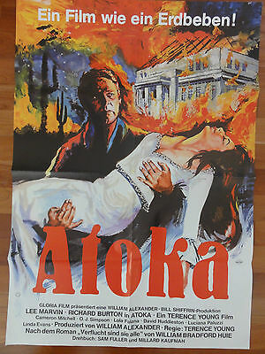 Lee Marvin ATOKA Richard Burton Terence Young Plakat Kinoplakat
