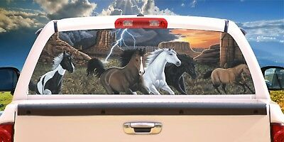 Horse # 20 Thunder Run Rear Window Tint-Murals-Decals-Graphics