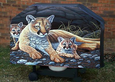 Lion # 3 - BBQ - Barbeque Gas Grill Cover