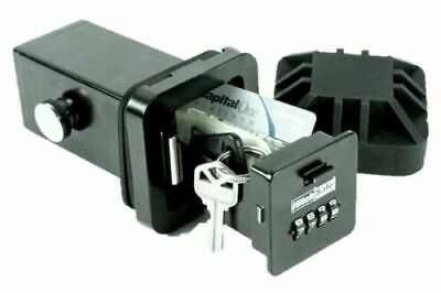 "HitchSafe HS7000T 2"" Trailer Hitch Reciever Safe Combination Key Box"