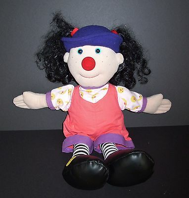"20"" LOONETTE Big Comfy Couch Cloth Doll Lunette 1995 Plush Stuffed"