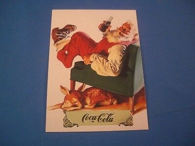 Coca-Cola 1993 Santa Claus Insert S-7 The Pause That Refreshes