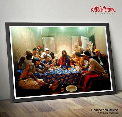 David LaChapelle - Ultima Cena - Last Supper FINE ART Print Photo Poster HR