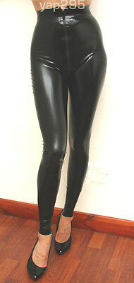 Pure by M and V rubber leggings goth latex gummi sexy