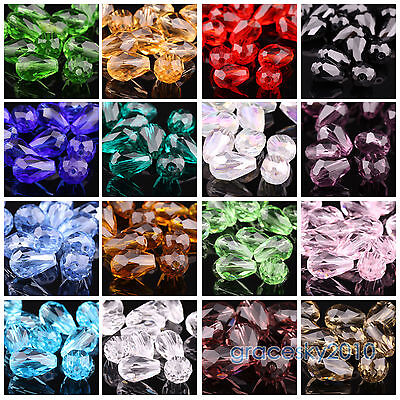 100pcs Austria Crystal Beads 5000 8mm Round Loose Beads Jewelry Making