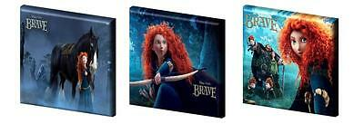 "BRAVE- MERIDA -CANVAS PICTURES -FREE POST- 6"",8"",10"" + 12"" from £11.99"