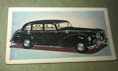 1954 HUMBER PULLMAN Orig Cadet Cigarette Card UK