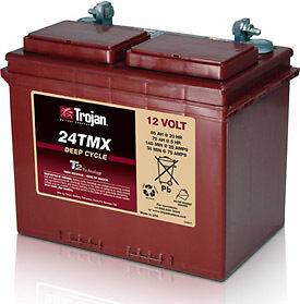 12v 105AH Trojan Ultra Deep Cycle Narrowboat Battery. 5 year Warranty