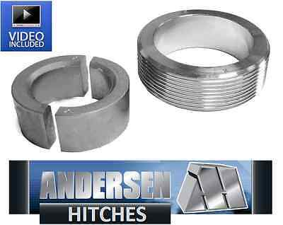 Andersen 3110 3-piece Collar System - King pin & Ranch Hitch Adapter install