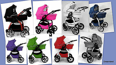 LUCKY 3 in 1 Pram Pushchair Travel System with car seat BEST QUALITY!!!!