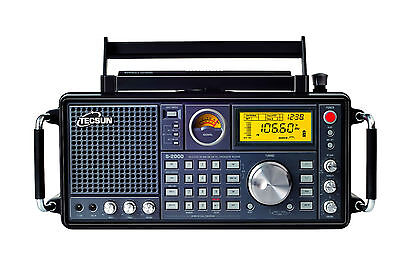 TECSUN S2000 receiver  PLL FM.MW.SW.LW.SSB Air Band Dual Conversion S-2000 radio