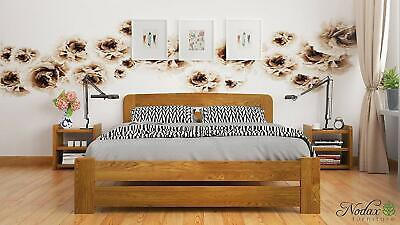 """*NODAX* Solid Wooden Pine Double Bed """"F1"""" 4ft6in frame&slats Various Colours****"""