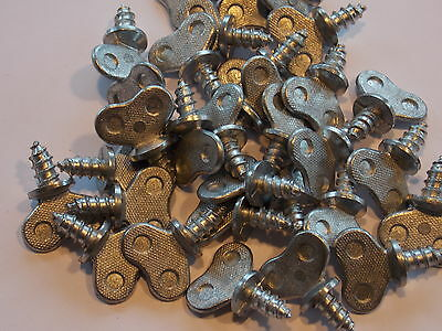 (25) - G.M. Dealer Style License Plate Thumb Screws Tag - 25 pieces
