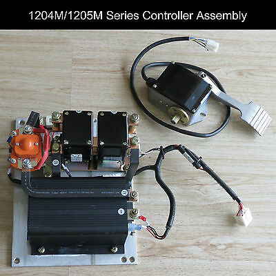 new curtis 1204m 5203 programmable dc series controller 275a 36v new curtis controller 1204m 5203 assembly 36v 48v throttle foot pedal