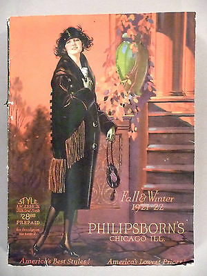 Philipsborn's CATALOG - Fall/Winter, 1921-1922 - Fashion - nice cond ~ 312 pages