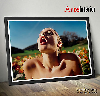 David Lachapelle -Angelina Jolie - Stampa FINE ART Photo Print - fino a 70x100