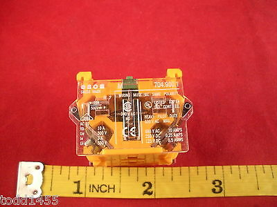 EAO 704.900.1 Auxiliary Contact Block Switch 10a 500v Terminal Snap 600v ac New