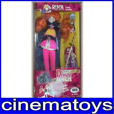 "Slayers LINA Rina la maga invincibile 12"" DOLL MIB, 1995 italian box rare figure"