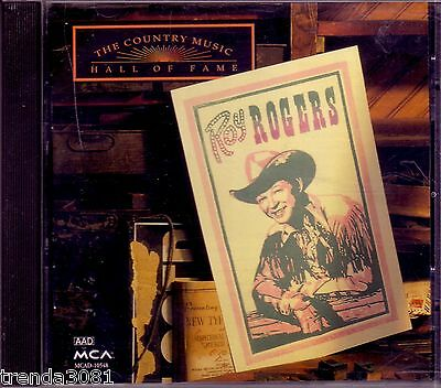 ROY ROGERS Country Music Hall Fame CD Classic 50s Greatest Anthology Yesterday