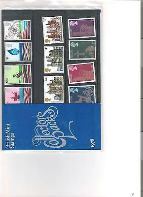 1978 Royal Mail Collectors Year Pack British Mint Decimal Stamps