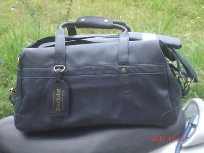Johnnie Walker Whisky Blue Label Traveller Bag Bill Amberg Studio NEW