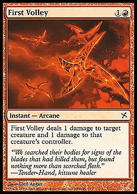 Red Betrayers of Kamigawa Mtg Magic Common 4x x4 4 FOIL Goblin Cohort