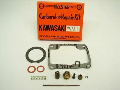 Vtg NOS 1970-1971 Kawasaki F5 F-5 350 Bighorn Keyster Carburetor Carb Repair Kit