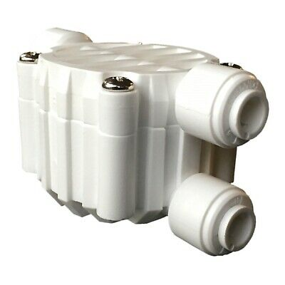 Reverse Osmosis Water Filters | RO Filter 4-Way Shut Off Valve | Stop Waste Flow