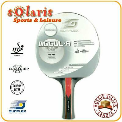 SUNFLEX MOGUL-Anatomic Professional Table Tennis Bat Carbon Layer Blade 10371