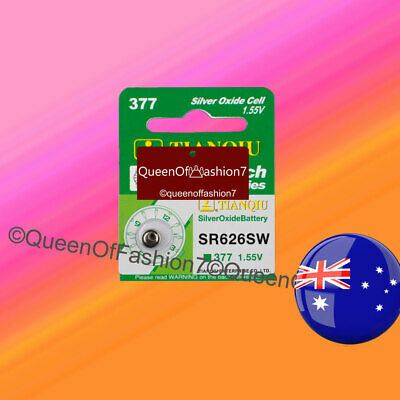 1 (ONE) Silver Oxide 377/SR626SW/AG4/SR66 Battery FREE DELIVERY w