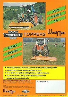 Westmac Flail & Rotary Toppers Sales Sheet