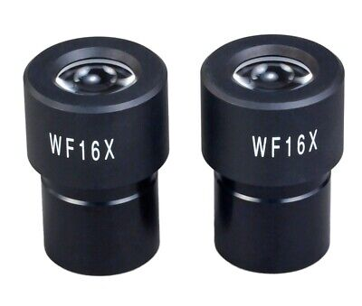 New Pair of Widefield WF16X Microscope Eyepieces (23.2mm)