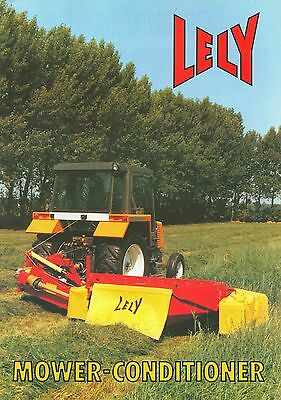 1988/89 Lely 205 & 240 Mower Conditioners Brochure