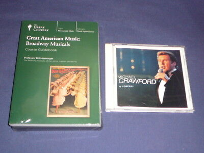 Teaching Co Great Courses DVDs    GREAT AMERICAN MUSIC  Broadway     new + BONUS