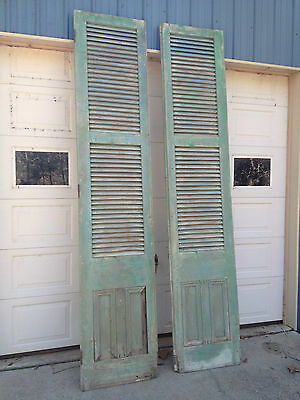 Large Antique French Style Doors