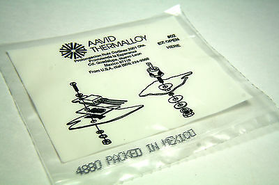 6 Bags Thermalloy Aavid Heatsink Mounting Kit  for TO-220 Devices Part #4880