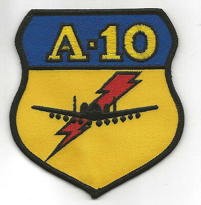 A-10 WARTHOG LARGE PATCH US AIR FORCE COMBAT PROVEN PIN UP AFB HOG WING GIFT WOW