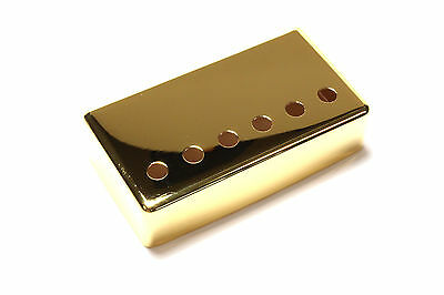 Humbucker Pickup cover Gold plated nickel silver 52mm pole spacing