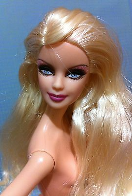 Blonde Model Muse Sultry Smokey Eye Nude Barbie Doll Mackie Holiday for OOAK