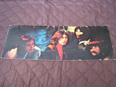 Pink Floyd 1972 Japan Tour Book Bad Condition Program Rogaer Water David Gilmour