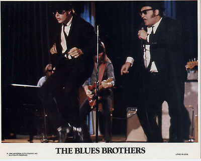 Blues Brothers 1980 Original Movie Mini Lobby Card 8x10 Complete Set of 8, Mint