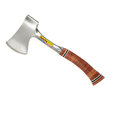 Estwing E14A 12-inch Leather Grip Sportsman Axe with Nylon Sheath