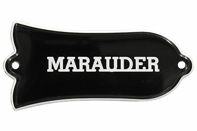 Engraved MARAUDER Truss Rod Cover for Gibson Les Paul